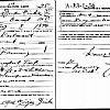 Alfred Gierke's World War One Draft Registration Card. This card is from the June 5, 1917 registration.